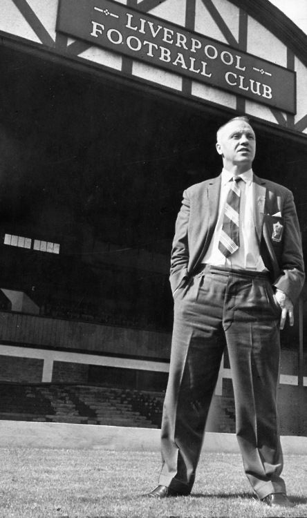 Bill Shankly, legendary Liverpool Football Club manager. We owe him so much.