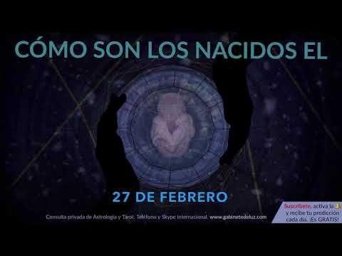 Cómo Son Los Nacidos El 27 De Febrero Youtube Zodiaco De Hoy Horóscopo Virgo Horoscopo Cancer