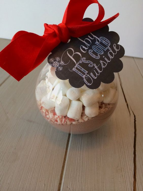 Baby Its Cold Outside so why not warm up your guests with a perfectly adorable serving of hot chocolate. In this listing you will receive 1 of our