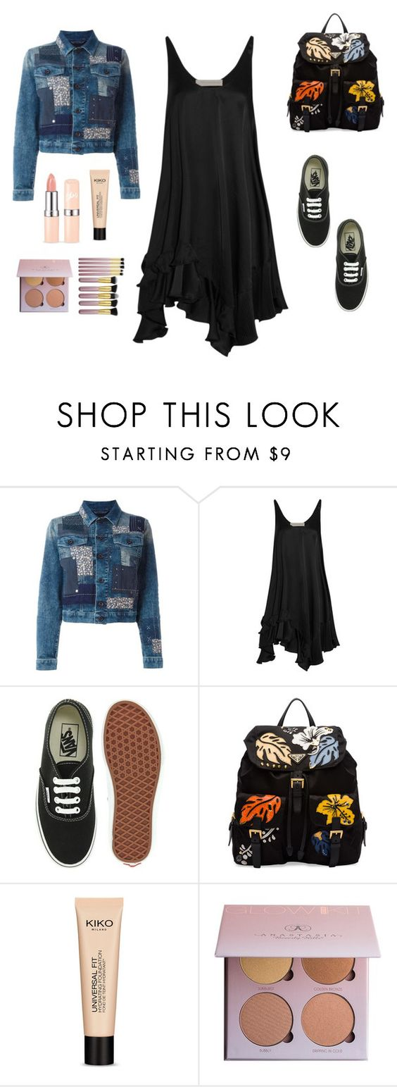 """""""Untitled #190"""" by new-style-to-try ❤ liked on Polyvore featuring Diesel, STELLA McCARTNEY, Vans, Prada and Anastasia Beverly Hills"""