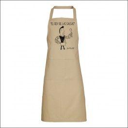 Hazte con uno de nuestros delantales más divertidos! Delantal Happy cooking - Gastroclub Selección