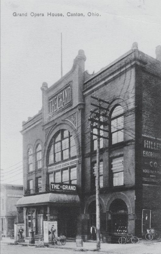 Grand Opera House Ca 1910 Canton Ohio Canton Ohio Ohio