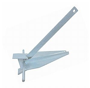 Hot Dip Galvanized Danforth Anchor - Marine Sales Discounts