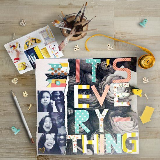 Follow these tips to make scrapbooking a quick layout a breeze! I made this spread quite easily and I'll show you how you can too!