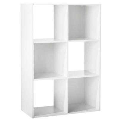 6 cube organizer shelf 11 room essentials the doors for Free room organizer