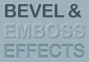 Cómo crear los efectos de bisel y Embossing de texto editable en Adobe…