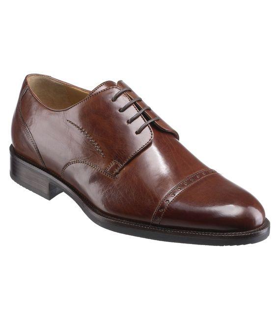 Shoe Burks Perfs Cap By Johnston Amp Murphy Men S Suits