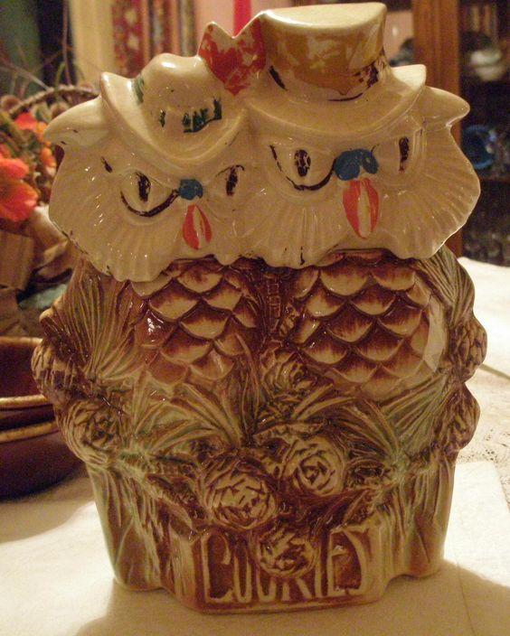 Jars Cookie Jars And Owl On Pinterest