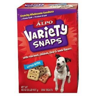 Which you like best? Alpo Variety Snap...  Check it out here : http://www.allforourpets.com/products/alpo-variety-snaps-little-bite-8-32oz-us