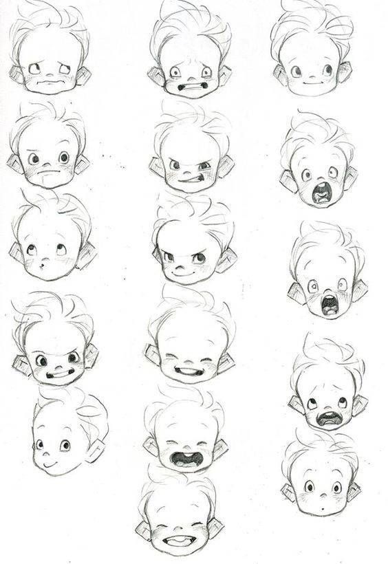 Aprender A Dibujar Caricaturas De Ninos Aprender A Dibujar Caricaturas De Ninos In 2020 Charakterzeichnen Illustration Kinder Illustration Book