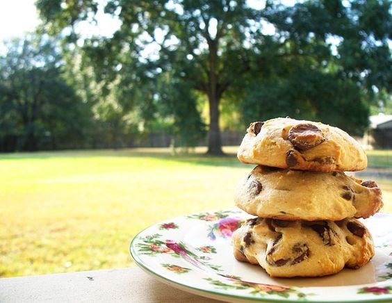 Ricotta Chocolate Chip Cookies  (seriously the best chocolate chip cookies you'll ever taste)   http://lakocinera.blogspot.com/2010/10/ricotta-chocolate-chip-cookies.html