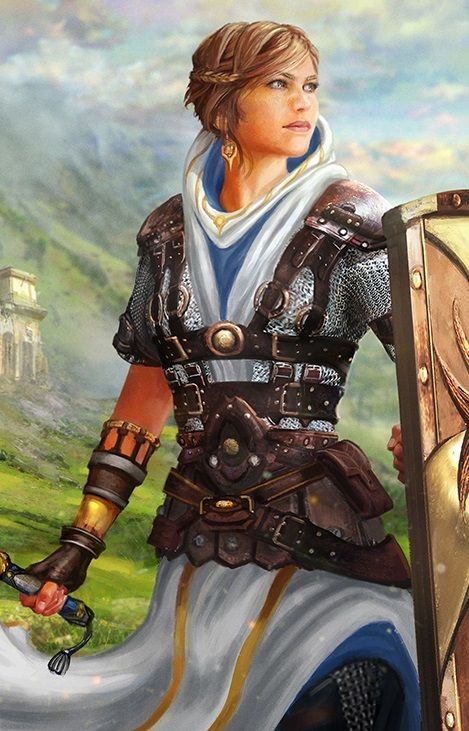 Cleric, by Josh Calloway | Armors, Search and Knight