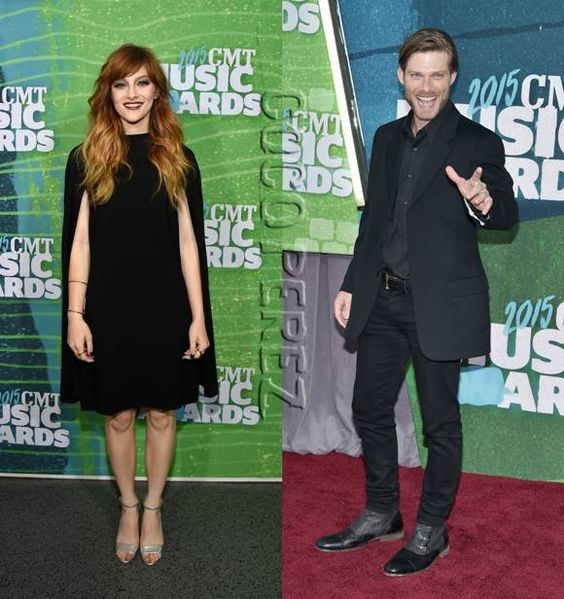 Nashville's Audrey Peeples & Chris Cormack Go Goth At The CMT Awards