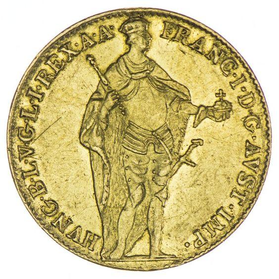 Dukat 1833 lat. Legende Kaiserreich Franz I. 1804/06 - 1835