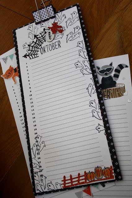 Sabine Gossmann-Krügers #Geburtstagskalender zum Blog Hop  http://rhein-main-stampin.blogspot.de/2016/09/blog-hop-team-stamping-art-herbst.html  #stampinup #teamstampingart #kalender #herbstwinterkatalog2016
