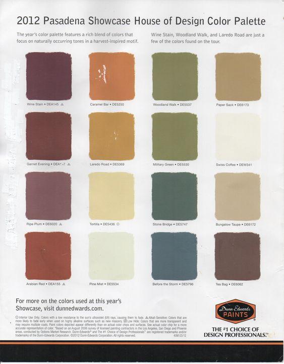 Whole House Color Scheme Home Paint Color Palettes Schemes Painting Pinterest House