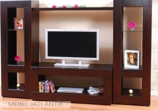 30 Model Lemari Tv Minimalis Modern Dan Harga 2020 Living Room Wall Units Living Room Tv Unit Designs Modern Tv Room