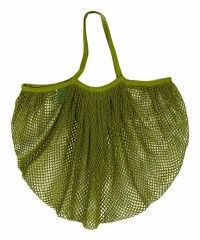 great for the beach (all that sand). Fishnet sport sack. 58.00, Echo Design