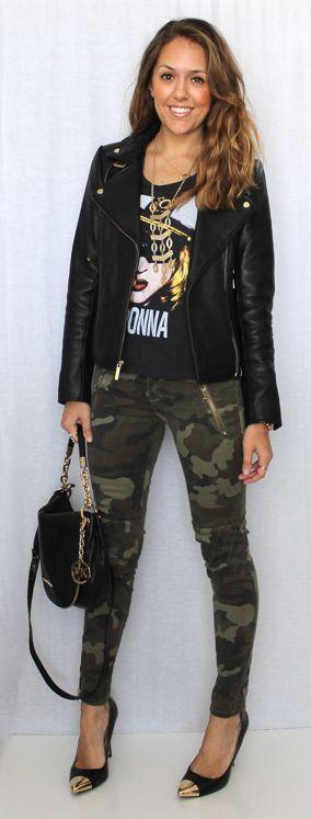 Camo skinny jeans!
