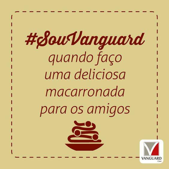 Hoje é o #DiaMundialDoMacarrão! Que tal fazer aquela #macarronada deliciosa para os amigos? Veja algumas #receitas que podem te inspirar: http://abr.ai/1rsI1wh #SouVanguard