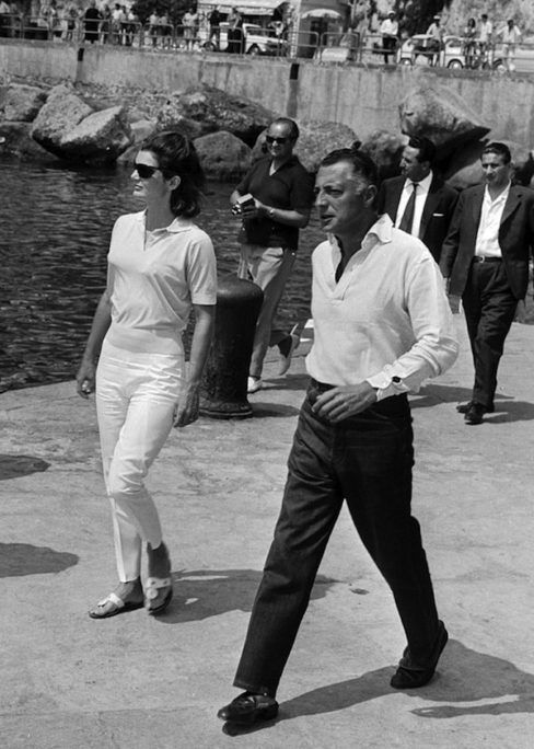 Cote D Allure A Guide To Men S Riviera Style The Rake Gianni Agnelli Jackie Kennedy Style Jackie Kennedy