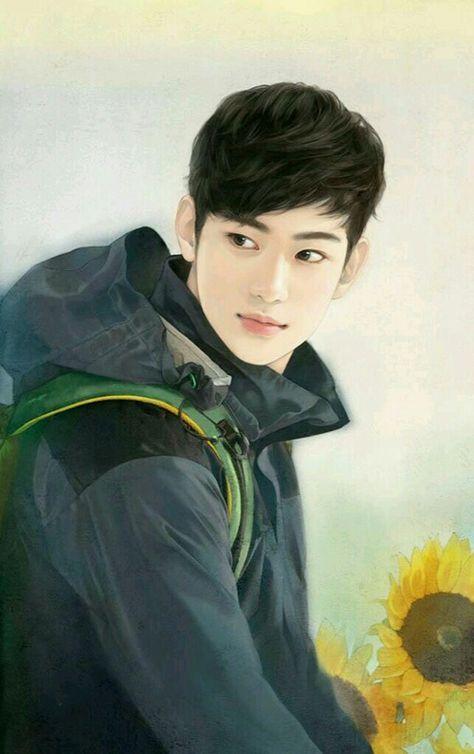 Immagine Di Kim Soo Hyun Boy Art Anime Art Handsome Anime Guys