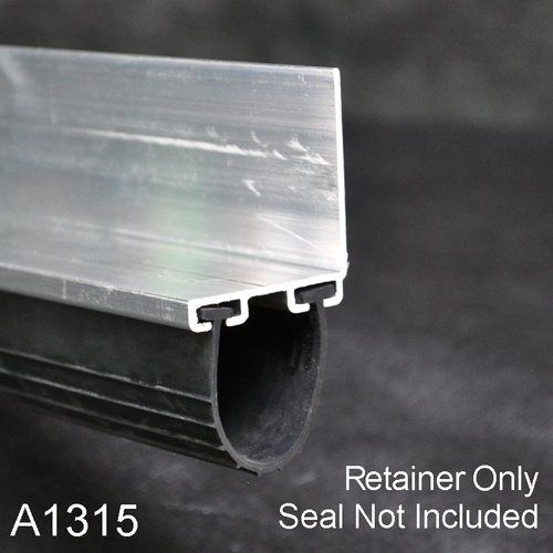 Aluminum Bottom Seal Retainer 1 3 8 X 1 1 2 L Shaped A1315 By The Foot In 2020 Garage Door Bottom Seal Garage Door Weather Seal Garage Door Seal