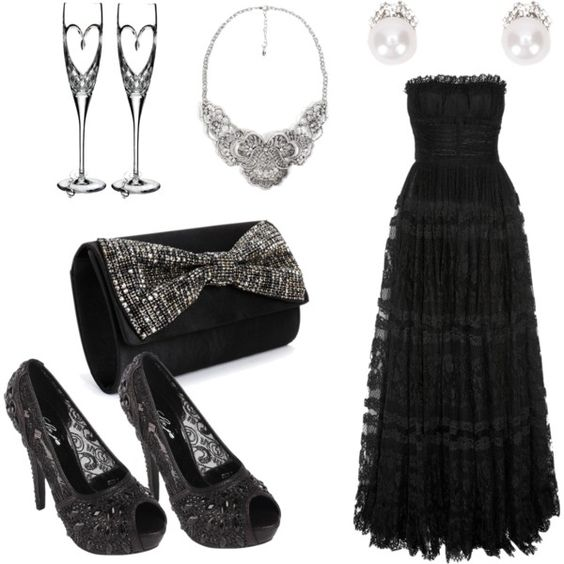 Newport Beach Nights by cebumode on Polyvore featuring Dolce&Gabbana and Waterford