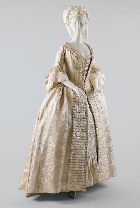 Dress (Robe à la Française)   The Costume Institute   Collection Database   Works of Art   The Metropolitan Museum of Art, New York