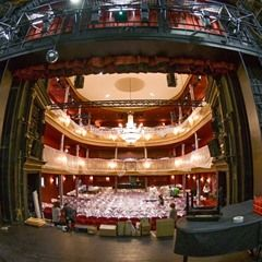 Progress of the renovations at St. Pauli Theater, Hamburg