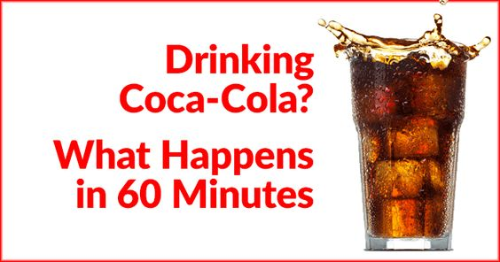 Drinking Coca-Cola? What Happens in 60 Minutes