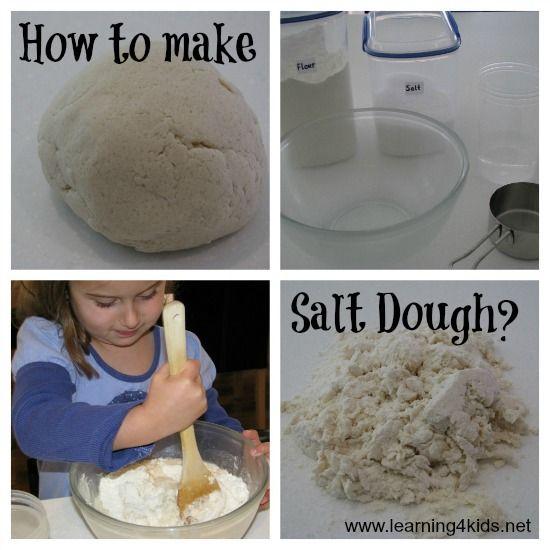 Salt Dough, Salts And How To Make
