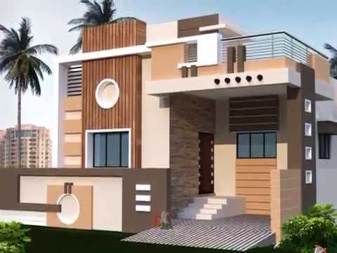 Most Beautiful Small Homes Youtube Building Plans House House Arch Design Small House Elevation Design