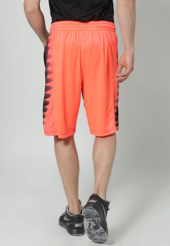 Shorts Nike Performance ELITE WING - Pantacourt de sport - noir/rouge fluo noir…
