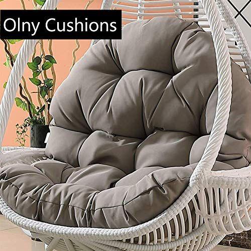 Sxfyhxy œufs Suspendus Coussins De Chaise Swing Pour Jardin Interieur Et Exterieur Patio Conforta En 2020 Coussin Chaise Chaises Pivotantes Coussins De Chaise De Patio