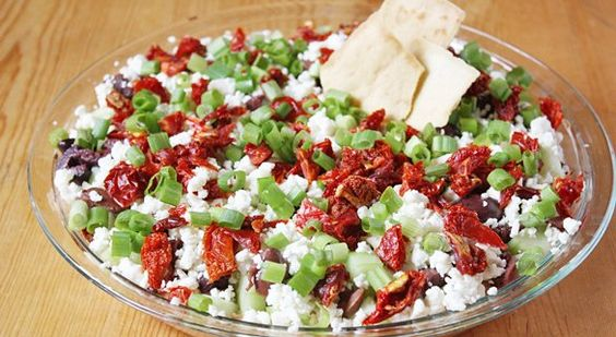 This could be interesting a Greek layer dip!