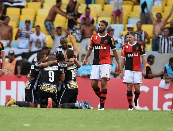 BotafogoDePrimeira: No aniversário do Rio, Bota vence o Fla e se isola...