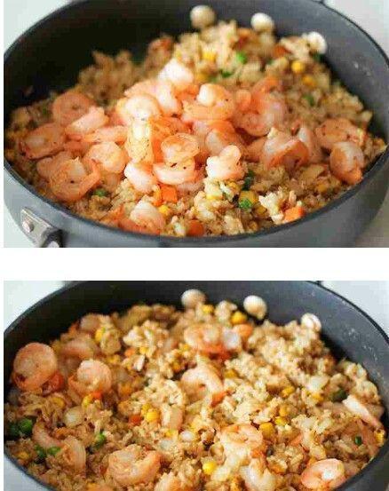 Simply Made Shrimp Fried Rice