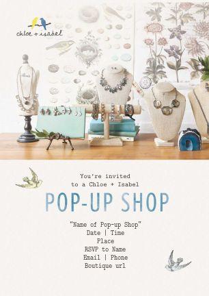Chloe Isabel Pop Up Shop
