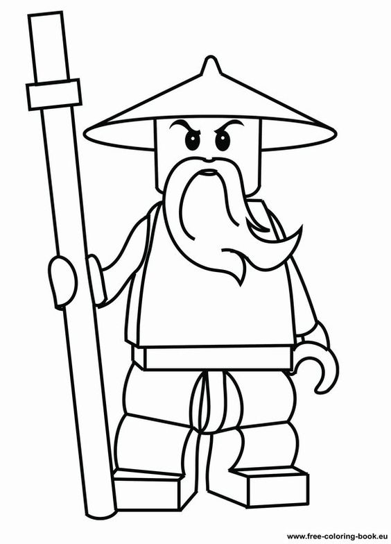 Coloring pages Lego Ninjago - Printable Coloring Pages Online.