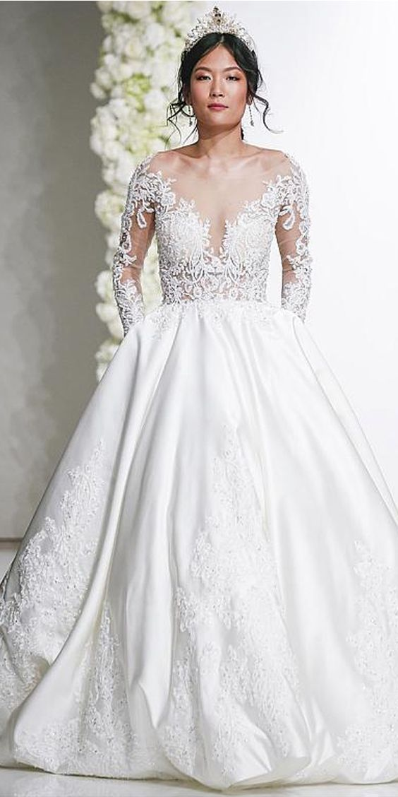 Look perfect for your fairytale moment in this wedding gown