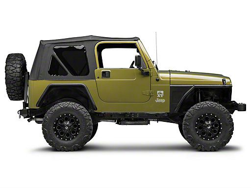 Barricade Jeep Wrangler Front Fenders W Flare J100296 97 06