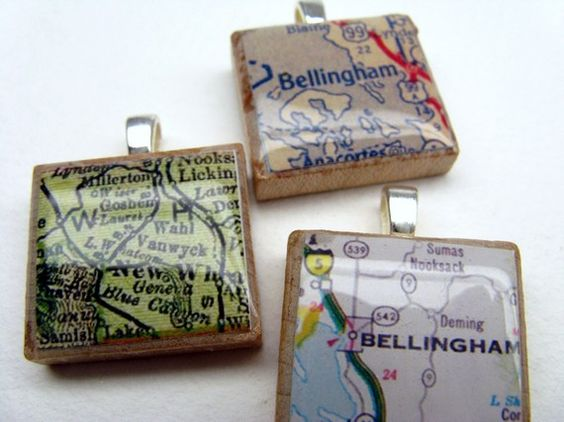 Bellingham Washington 1980s vintage Scrabble by GratitudeJewelry