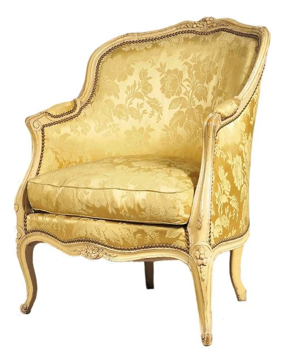 A Painted Louis XV Bergere From Miguel Meirelles French Furniture Antiq