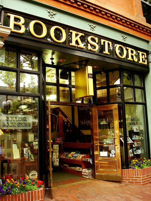 Boulder Bookstore in Boulder, CO. So classy.
