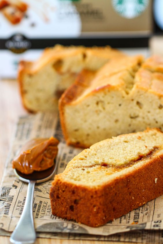 Dulce de Leche Loaf Cake