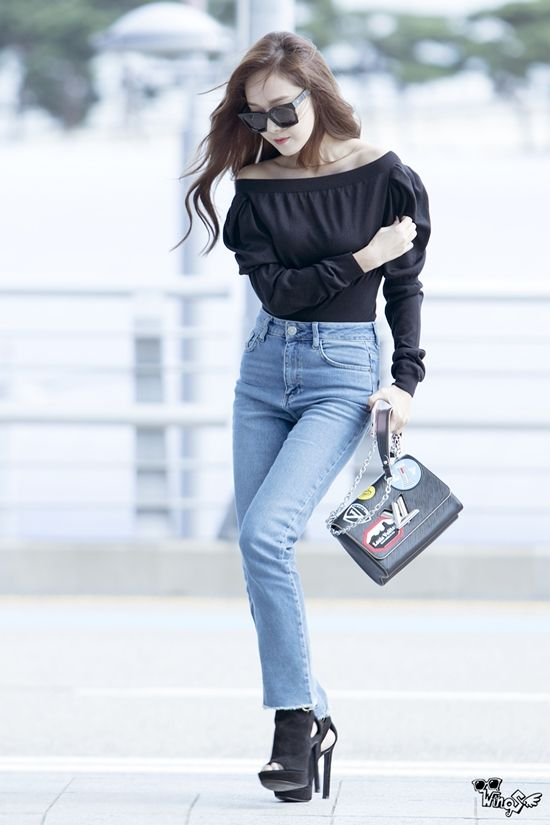 Jessica Airport Fashion 2017 Official Korean Fashion Snsd Fashion Krystal Jung Fashion Snsd Airport Fashion