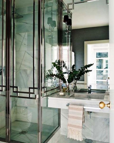 art deco interior design   Art Deco Home Interior Design Ideas With Black And White   Latest ...