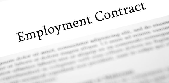 dubai employment contract and legal validity labour contracts - job termination letter