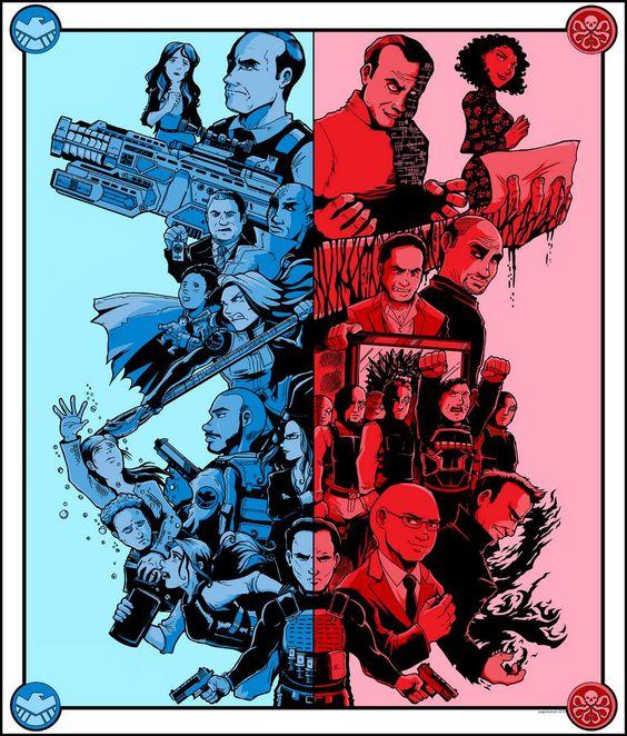Twitter / page_branson: New S.H.I.E.L.D. art! @Clark Gregg ...